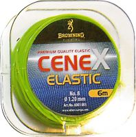 Elastics Super Visibility fluo green 1,20mm