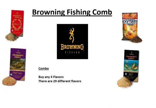Browning Fishing Combo Deal Buy Any 4 Flavors ( Was R 205.20)